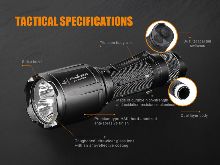 Fenix-TK25UV-flashlight-features