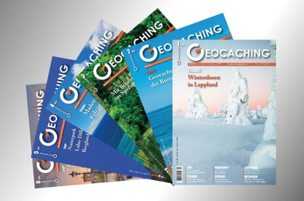 Geocaching Magazin Abo