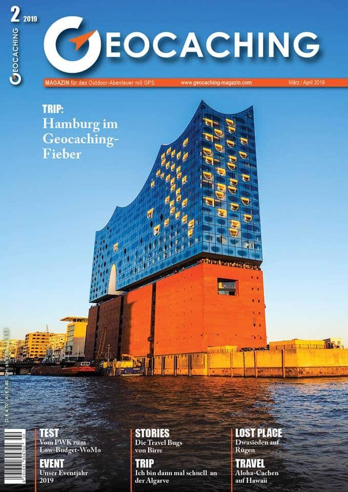 Geocaching Magazin März/April 2019