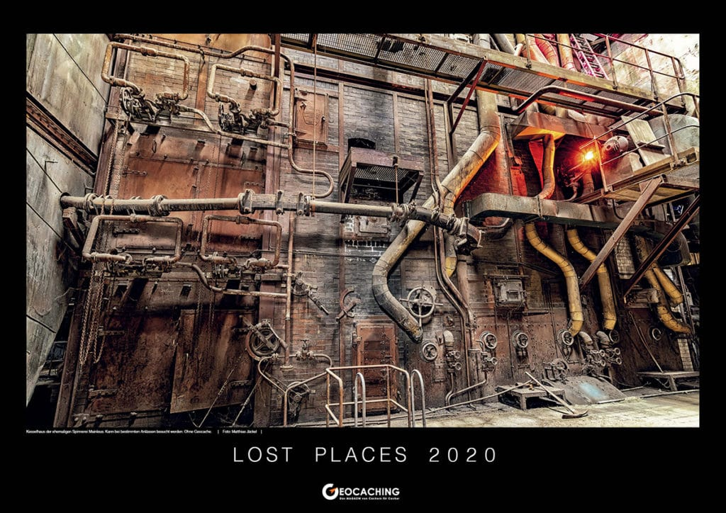 Lost Place Kalender 2020