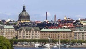 Bin dann mal in Stockholm