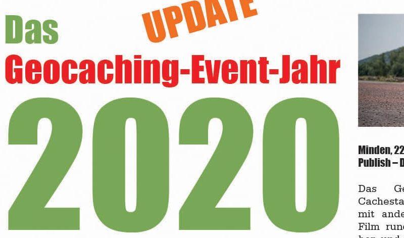Beitragsbild Verschiebung und Absage Geocaching Mega Events 2020