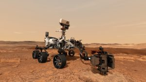 Mars: Erster interplanetarer Trackable