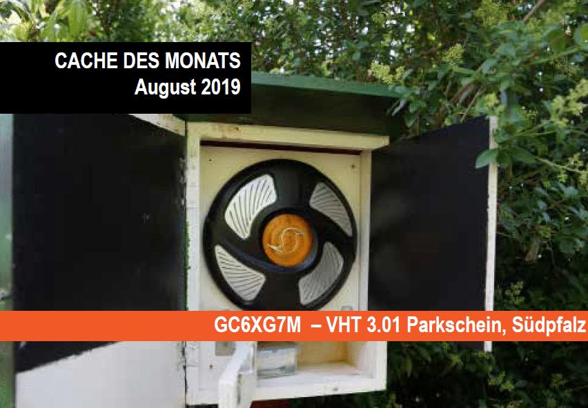 Cache des Monats August 2019