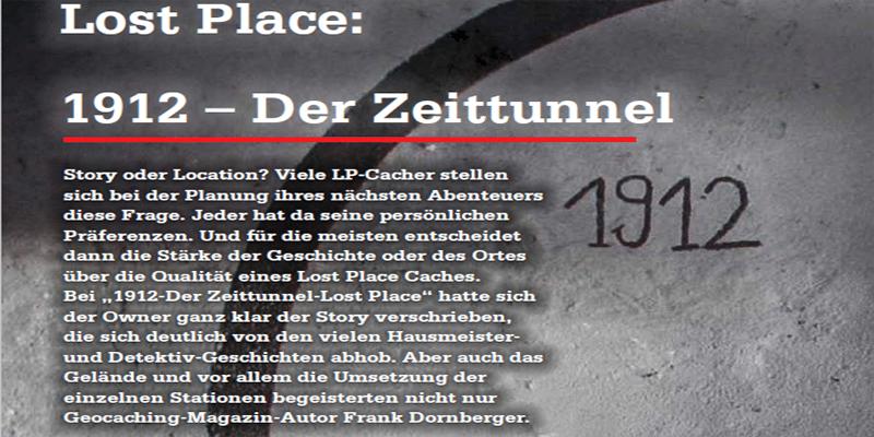 Lost Place: 1912 – Der Zeittunnel