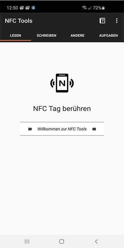 Geocaching Apps NFC
