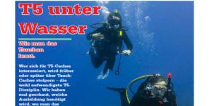 T5 unter Wasser – wie man das Tauchen lernt