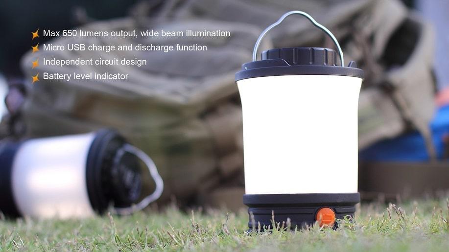 Fenix Campinglampe CL30R