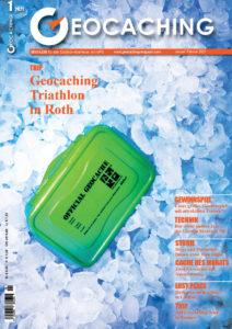 Titelbild Geocaching Magazin Januar/Februar 2021