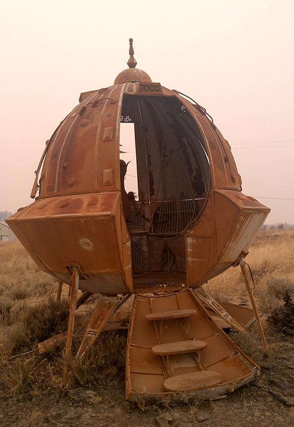Alte Raumkapsel