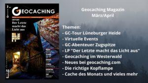 Titelbild Geocaching Magazin