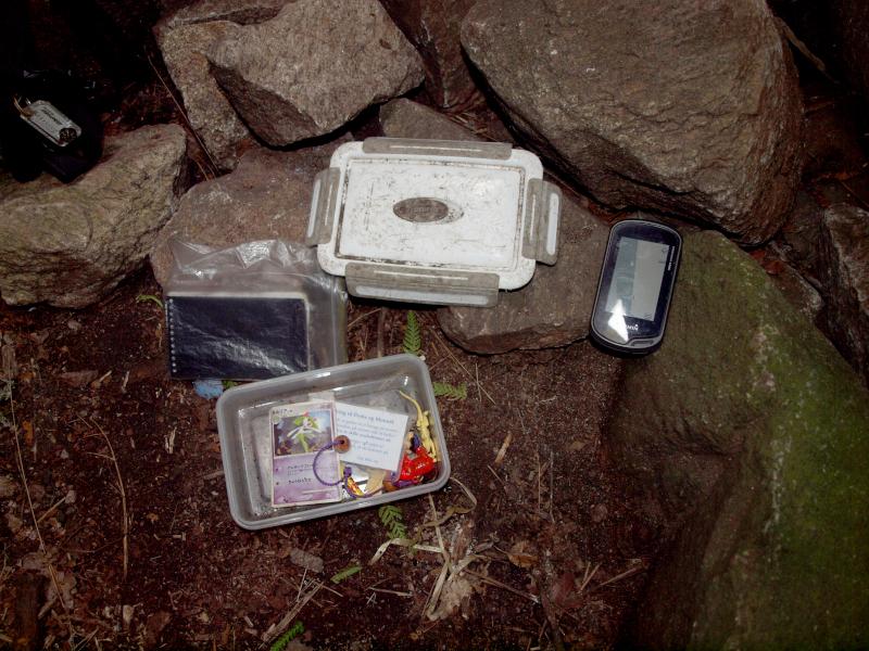 Geocache und GPS Gerät