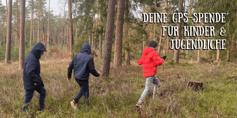 Geocaching als Therapie – Aufruf zur Spendenaktion für Kinder