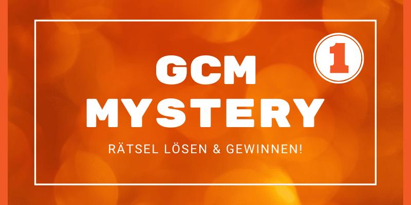 GCM MYSTERY #1: Ein Audio-Rätsel-Gewinnspiel