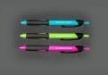 Geocachingschreibgerät, Outdoor-Kugelschreiber, 3er-Set Trendfarben