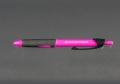 Geocachingschreibgerät, Outdoor-Kugelschreiber pink