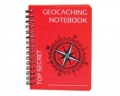 Geocaching Notizbuch - rot