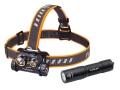 Premium Stirnlampe Fenix HM65R  + Schlüsselbundlampe E01