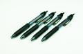 Geocachingschreibgerät, Outdoor-Kugelschreiber, 4er-Set schwarz