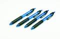 Geocachingschreibgerät, Outdoor-Kugelschreiber, 4er-Set blau