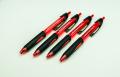 Geocachingschreibgerät, Outdoor-Kugelschreiber, 4er-Set rot